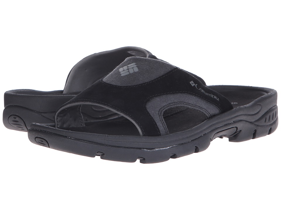Columbia Tangotm Slide (Black/Charcoal) Men