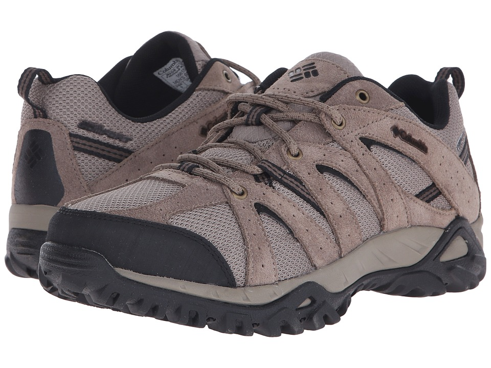 Columbia - Grand Canyontm (Pebble/Black) Men's Shoes