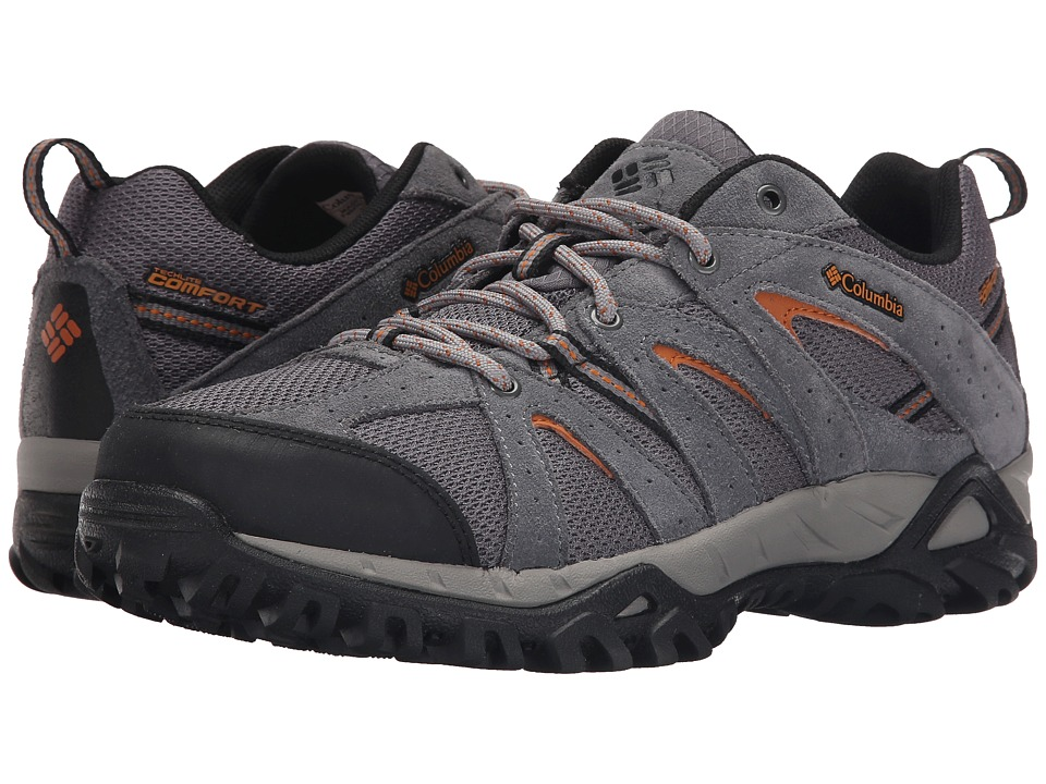 Columbia - Grand Canyon (City Grey/Bright Copper) Men's Shoes