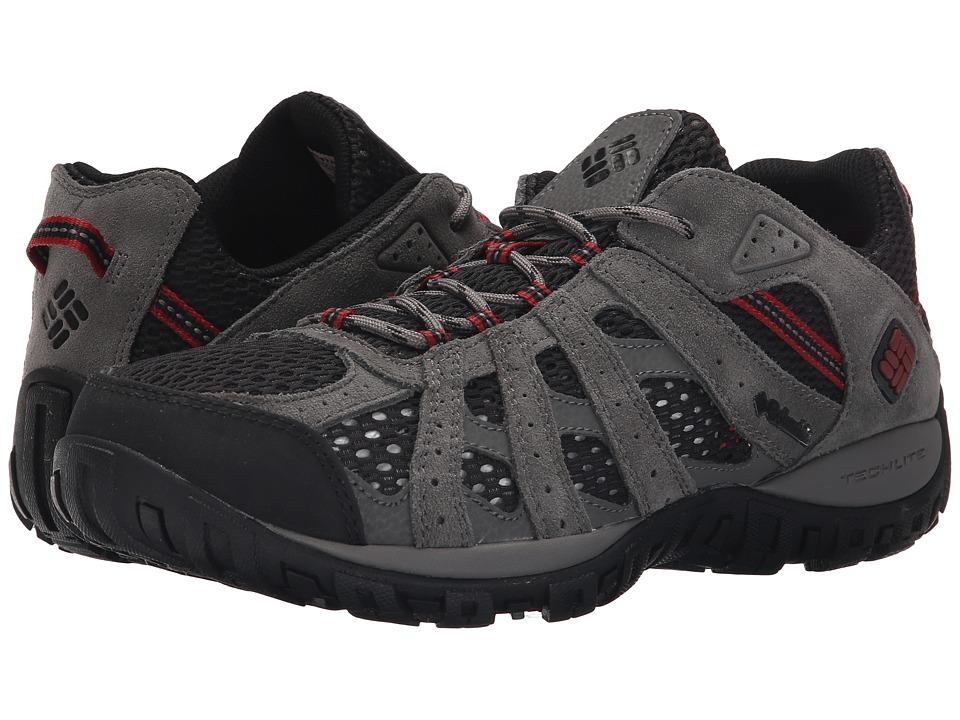Columbia - Redmondtm Breeze (Black/Red Dahlia) Men's Shoes