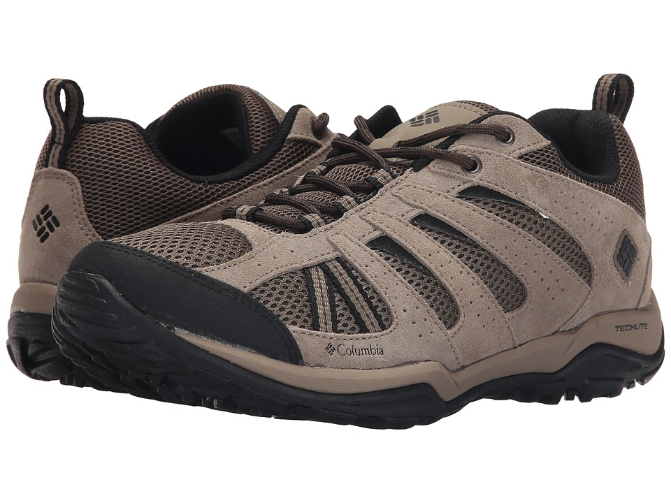 Columbia - North Plains Drifter (Mud/Black) Men's Shoes