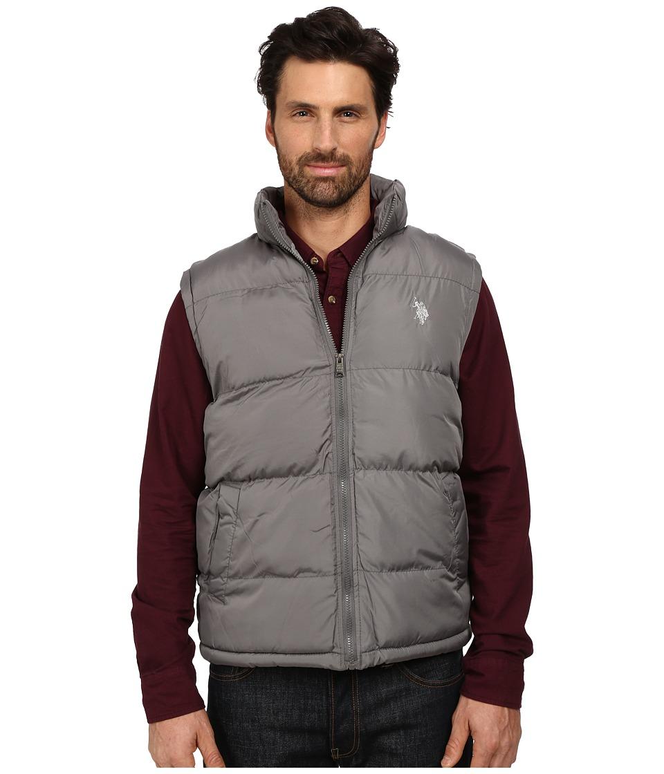 U.S. POLO ASSN. - Basic Puffer Vest (Castle Rock) Men's Vest