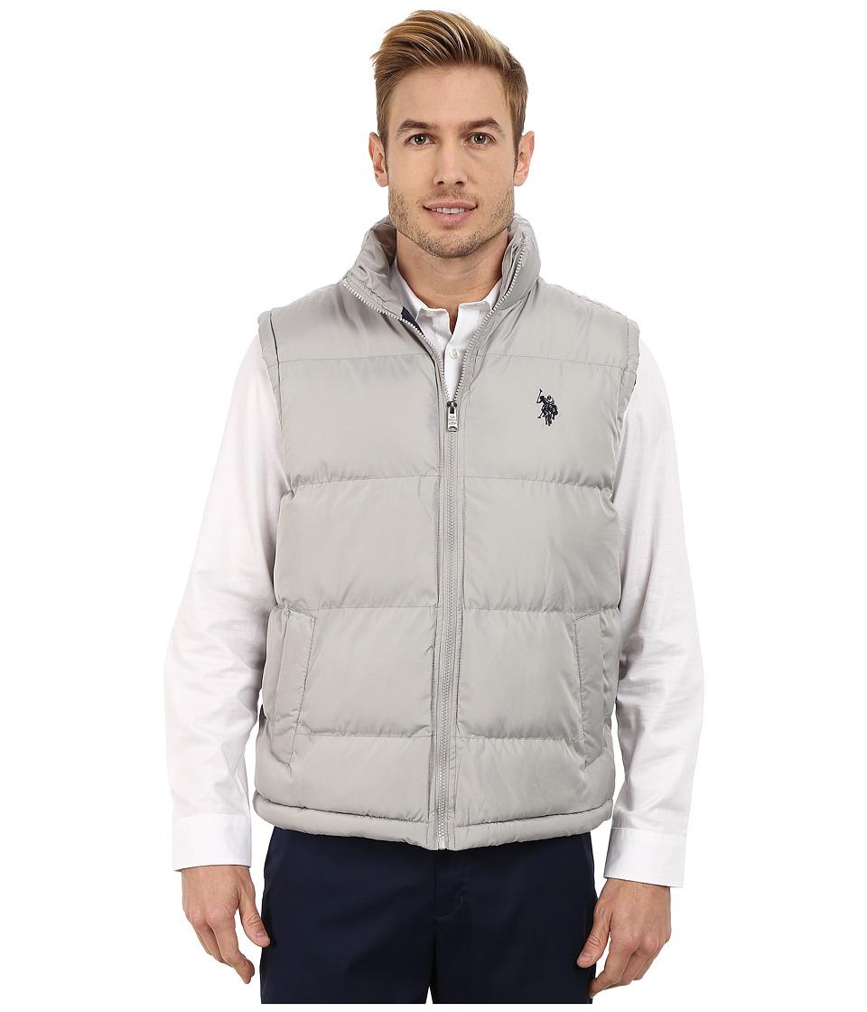 U.S. POLO ASSN. - Basic Puffer Vest (Limestone) Men's Vest