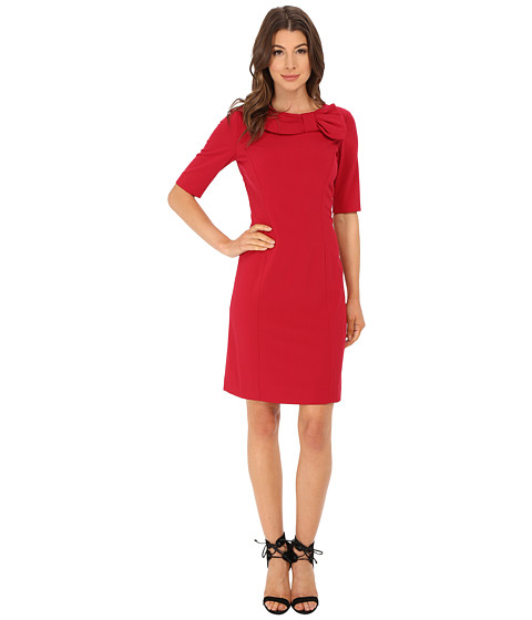 Tahari by ASL - Jason - C Dress (Lipstick) Women