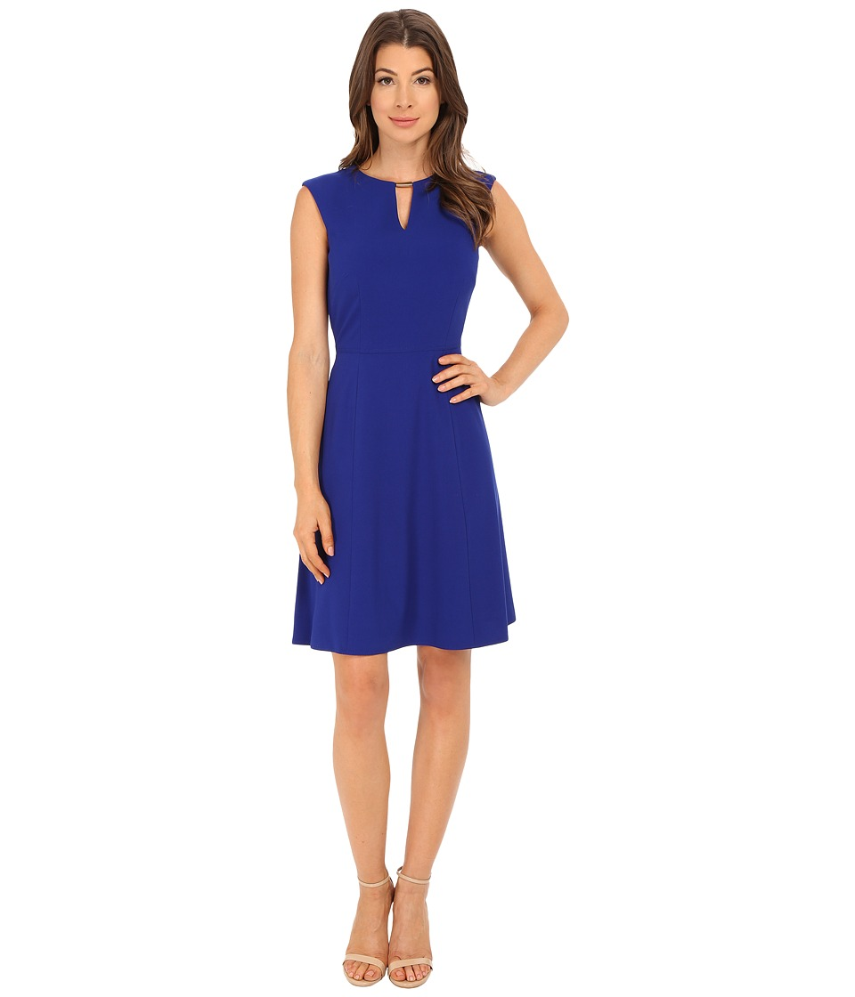 Tahari by ASL - Greg - X Dress (Cobalt) Women's Dress