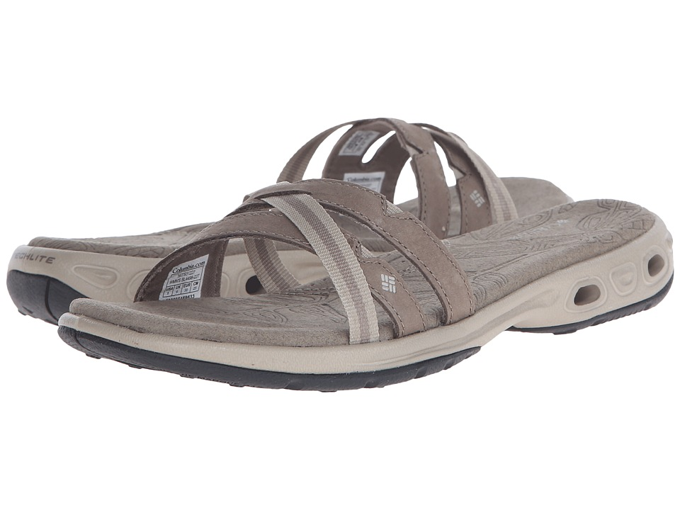 Columbia - Inaguatm Vent Slide (Pebble/Pumice Stone) Women's Sandals