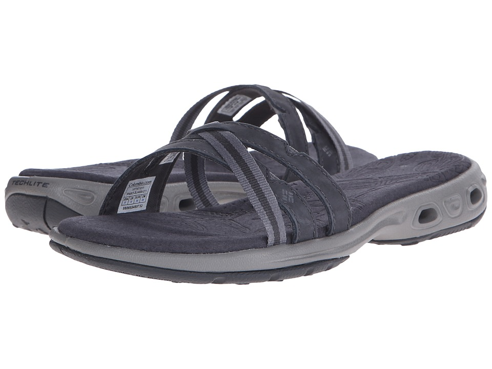 Columbia - Inaguatm Vent Slide (Shark/Light Grey) Women's Sandals