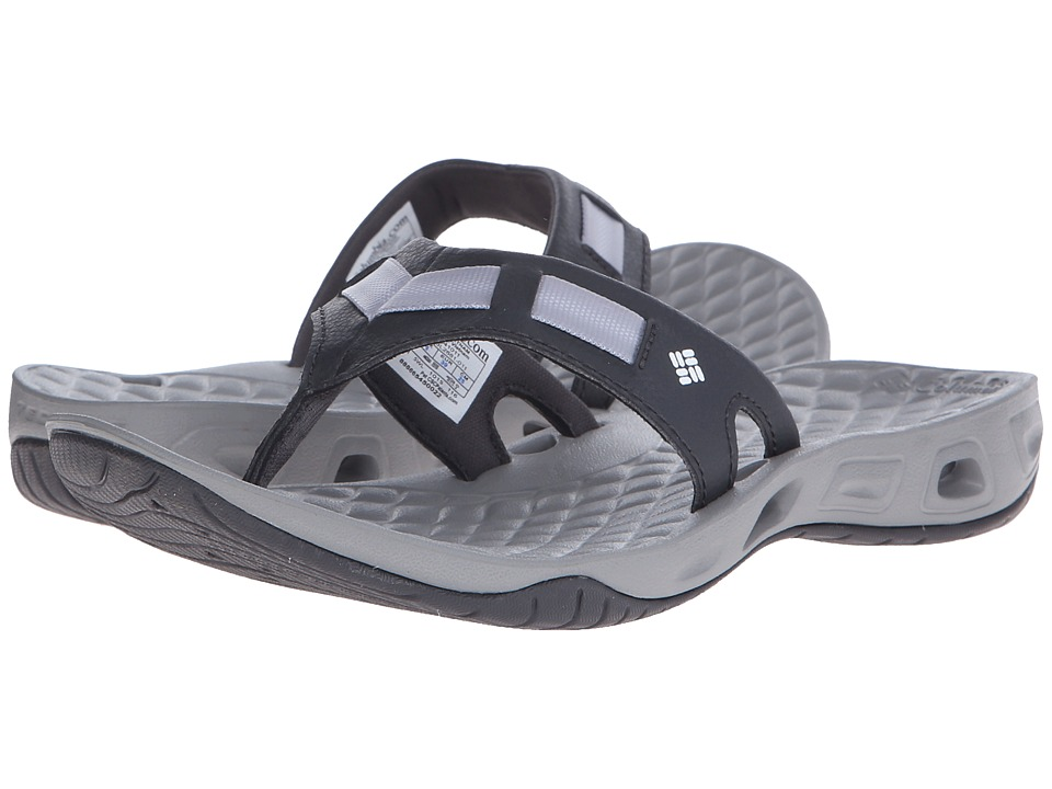 Columbia - Sunbreeze Vent Cruz Flip (Shark/White) Women's Sandals