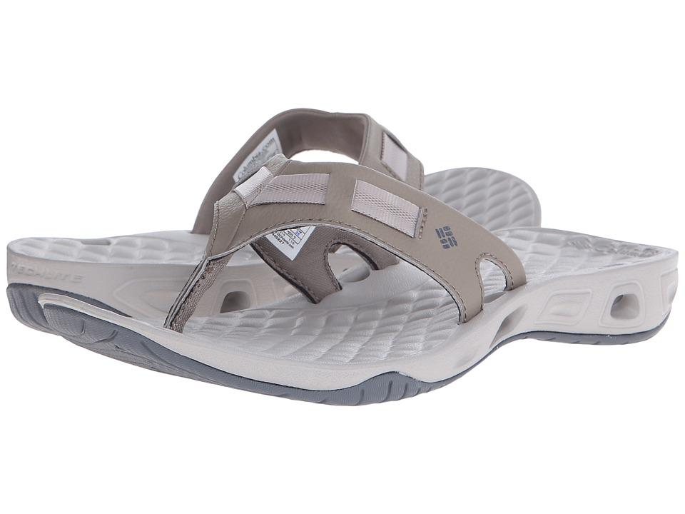 Columbia - Sunbreeze Vent Cruz Flip (Pebble/Graphite) Women's Sandals