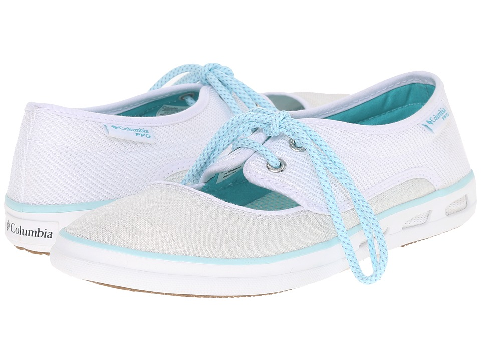 Columbia - Vulc N Vent Peep Toe PFG (White/Miami) Women's Shoes