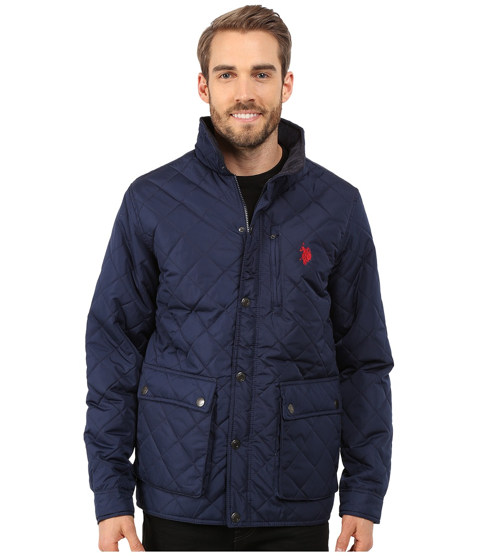 U.S. POLO ASSN. - Diamond Quilted Jacket (Classic Navy) Men