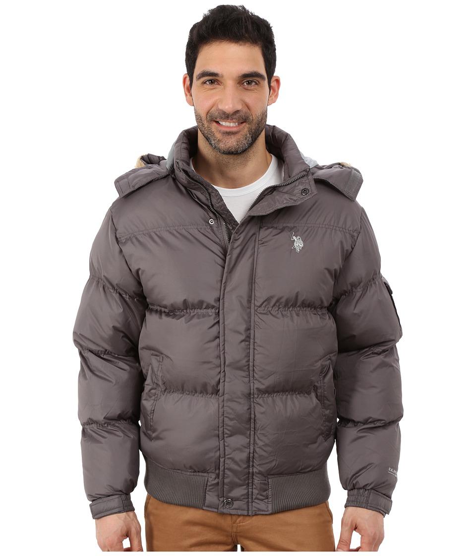 U.S. POLO ASSN. - Short Snorkel Jacket (Castle Rock) Men's Coat plus size,  plus size fashion plus size appare