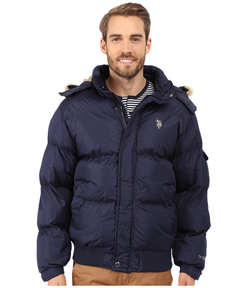 U.S. POLO ASSN. - Short Snorkel Jacket (Classic Navy) Men's Coat