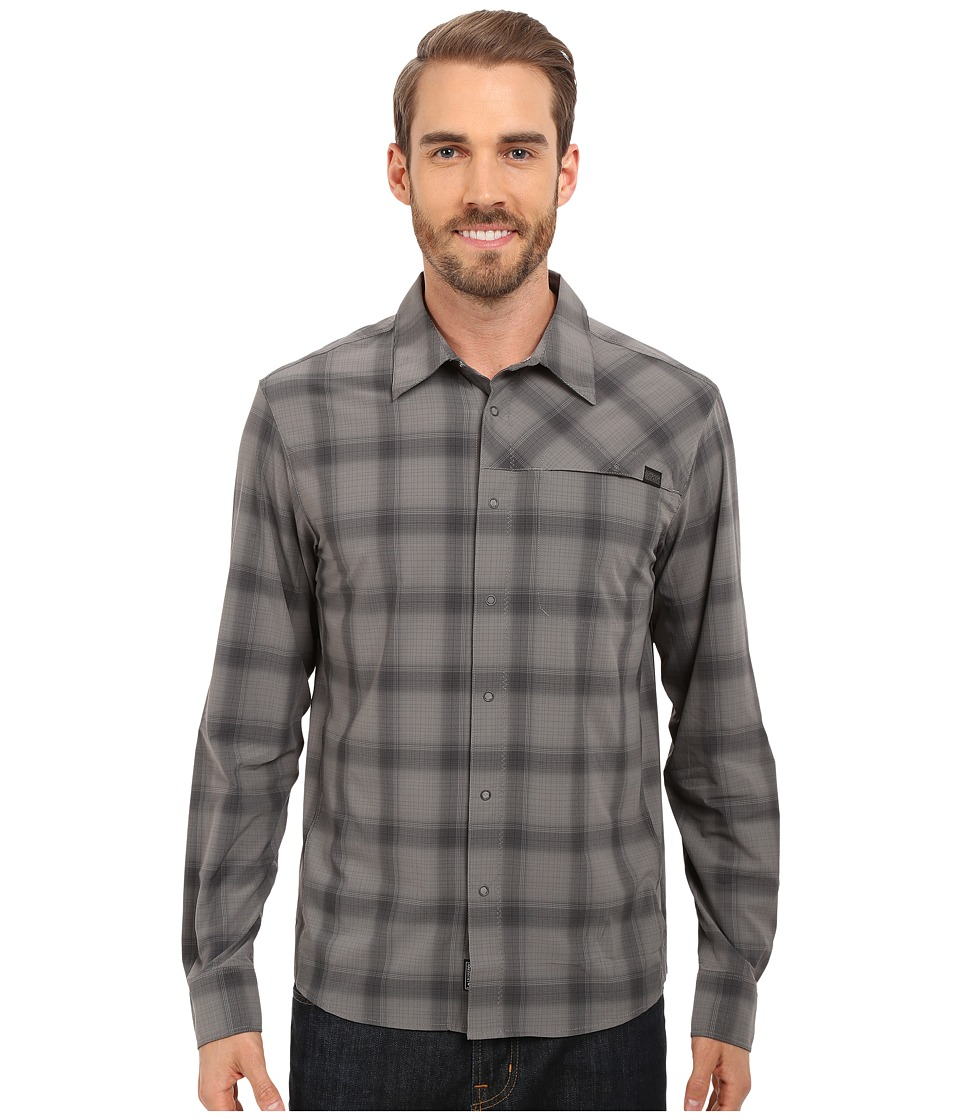 Outdoor Research - Astroman L/S Shirt (Pewter/Charcoal) Men's Clothing