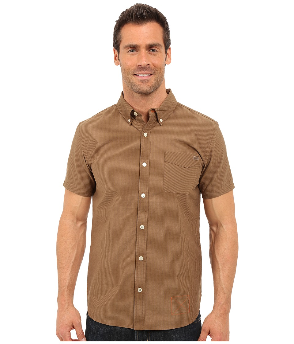 Outdoor Research - Tisbury S/S Shirt (Earth) Men's Short Sleeve Button Up