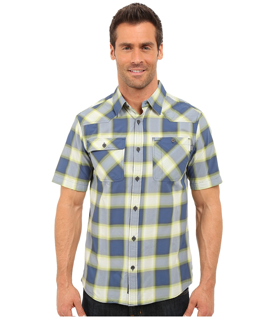 Outdoor Research - Growler S/S Shirt (Dusk/Palm) Men's Short Sleeve Button Up