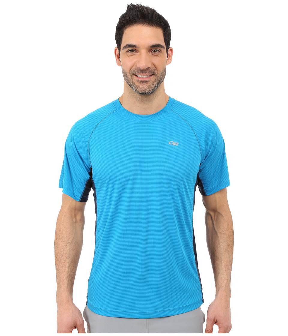 Outdoor Research - Echo Duo Tee (Tahoe/Night) Men's Short Sleeve Pullover