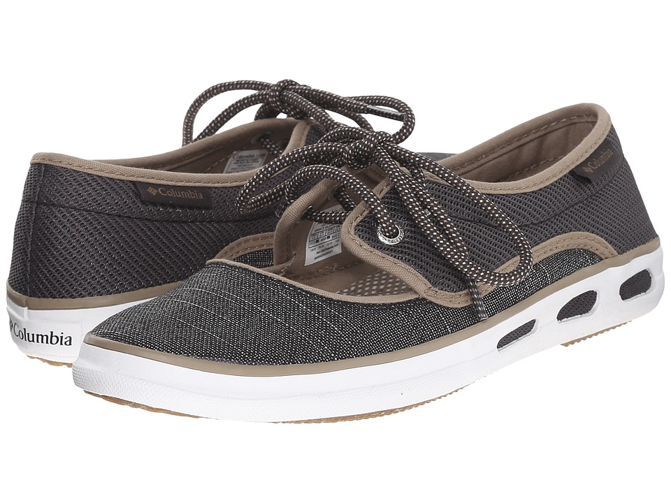 Columbia - Vulc N Vent Peep Toe (Shark/Khaki) Women's Shoes