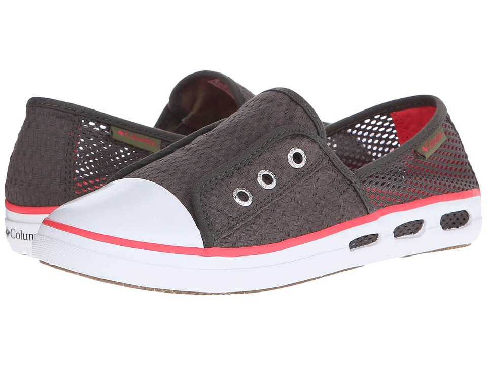 Columbia Vulc N Vent Bombie (Alpine Tundra/Laser Red) Women