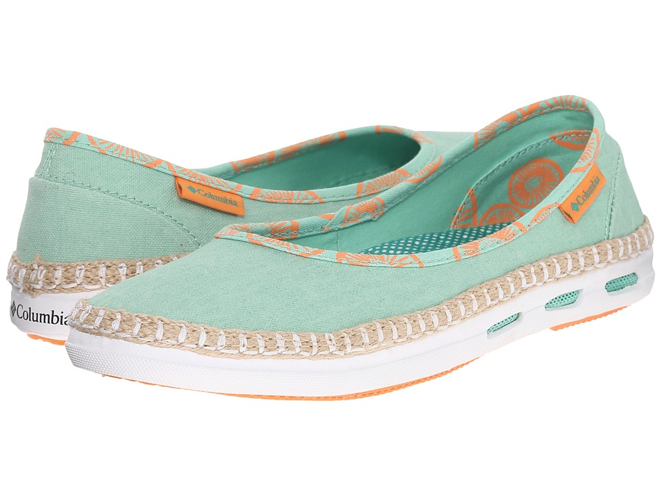 Columbia - Vulc N Venttm Bettie (Kelp/Bright Emerald) Women's Shoes