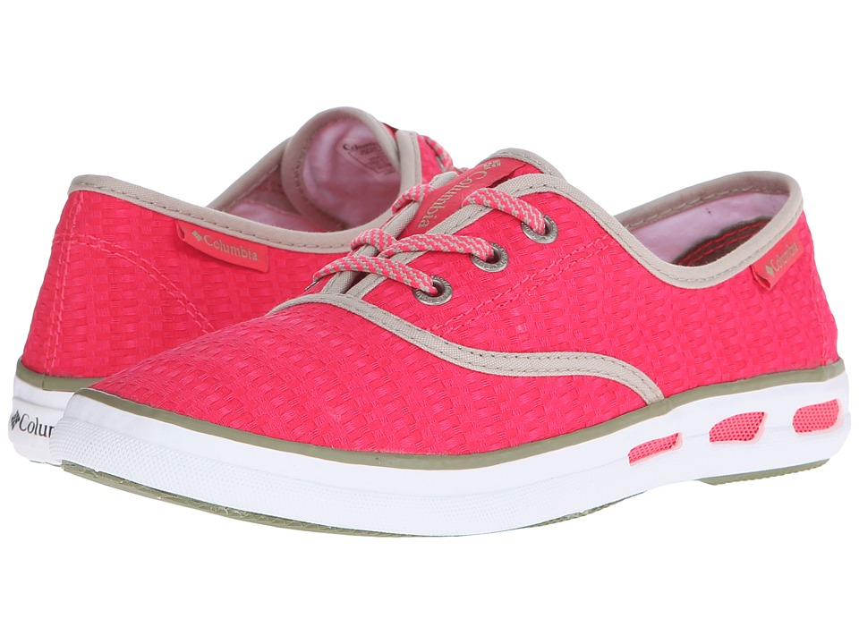 Columbia Vulc N Vent Lace Canvas II (Laser Red/Cool Moss) Women