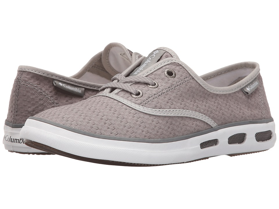 Columbia - Vulc N Vent Lace Canvas II (Light Grey/Sea Salt) Women's Shoes
