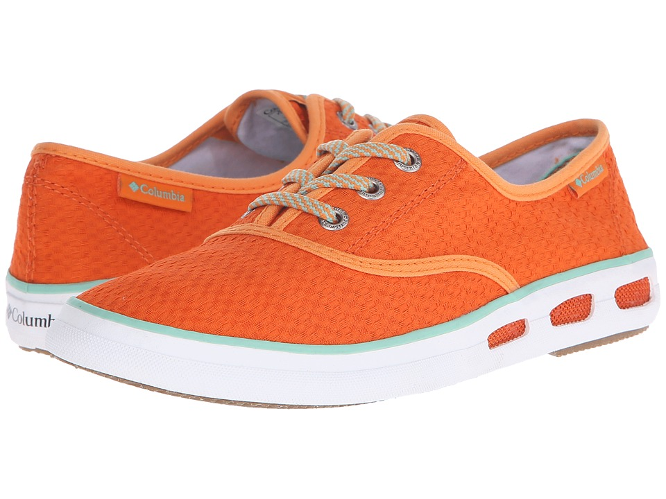 Columbia - Vulc N Vent Lace Canvas II (Heatwave/Kelp) Women
