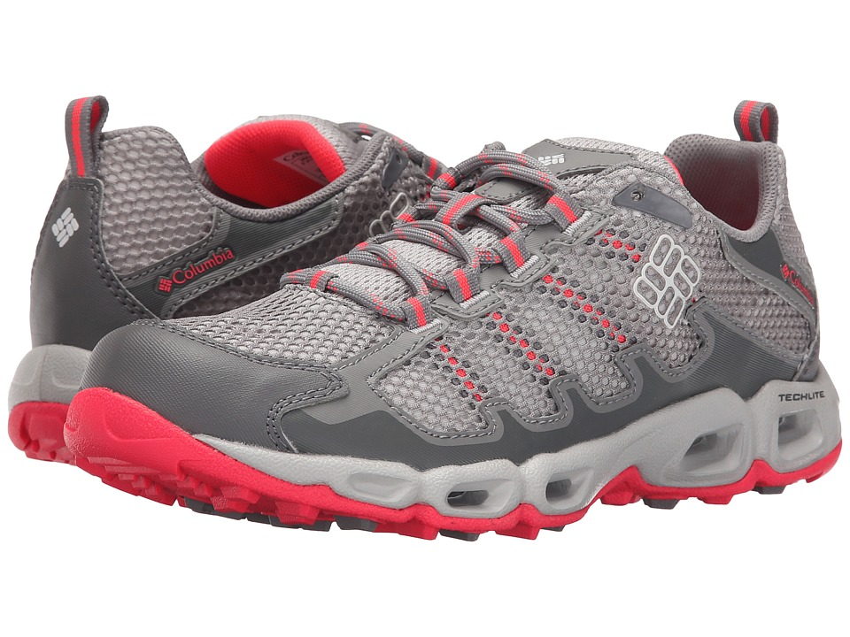 Columbia Ventastic II (Light Grey/Laser Red) Women