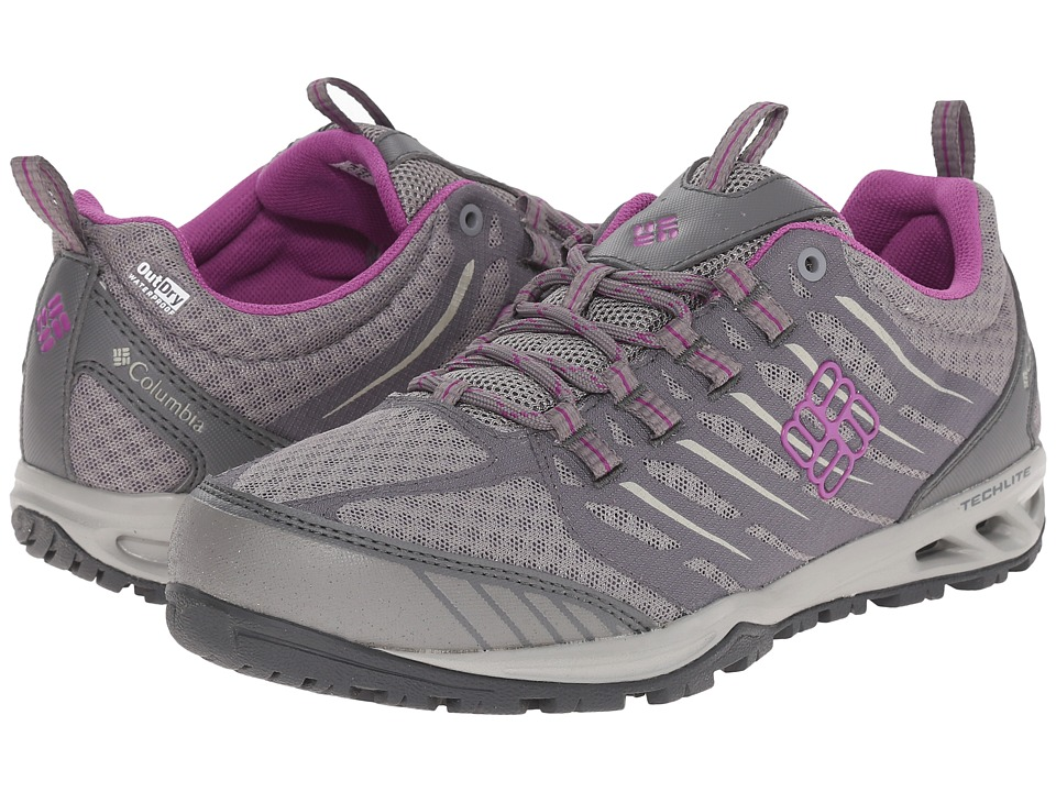 Columbia Ventrailia Razor Outdry (Light Grey/Razzle) Women