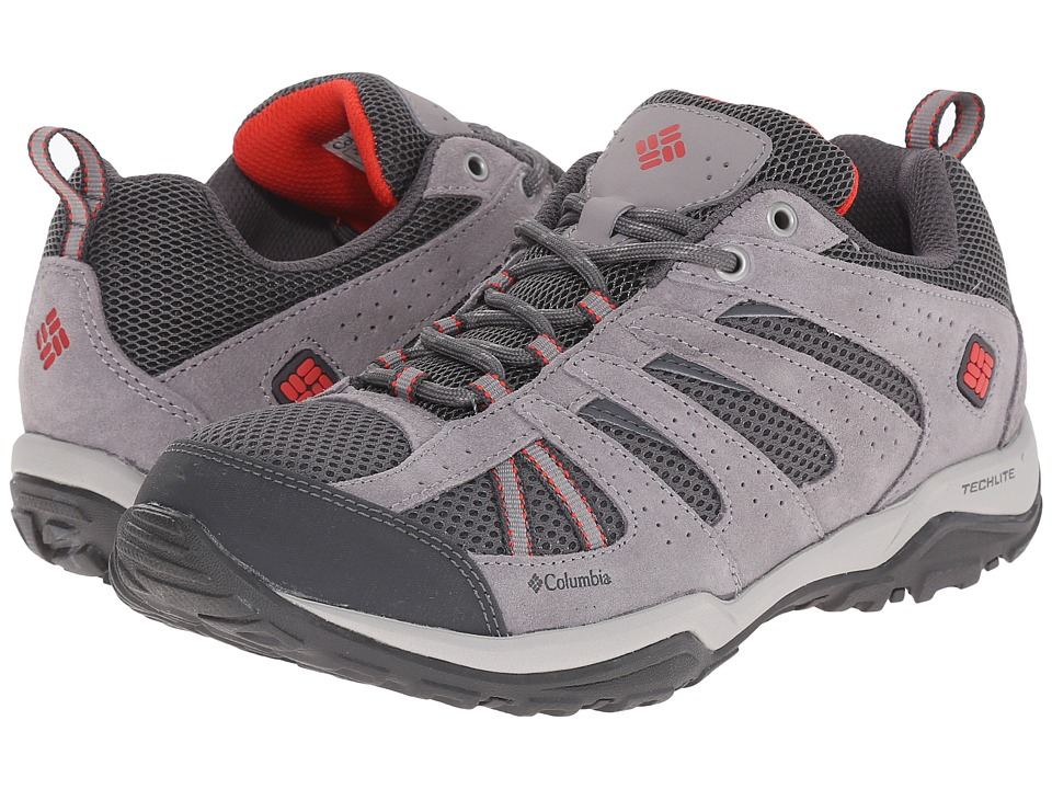 Columbia Dakotatm Drifter (Quarry/Poppy Red) Women's Shoes
