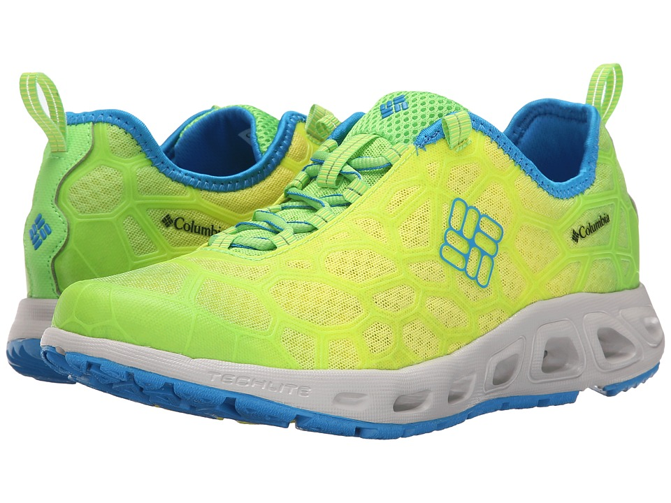 Columbia - Megavent (Green Mamba/Static Blue) Men's Shoes