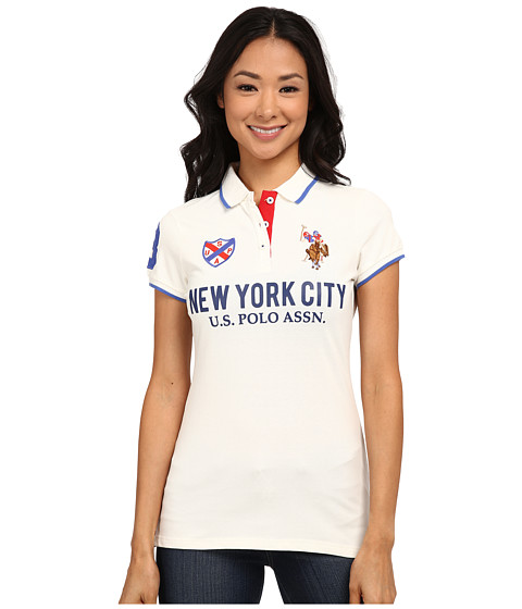 U.S. POLO ASSN. - New York City Polo (Marshmallow) Women's Clothing