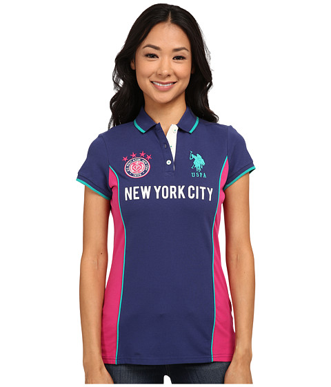 U.S. POLO ASSN. - New York City Polo (Blue Print) Women's Clothing