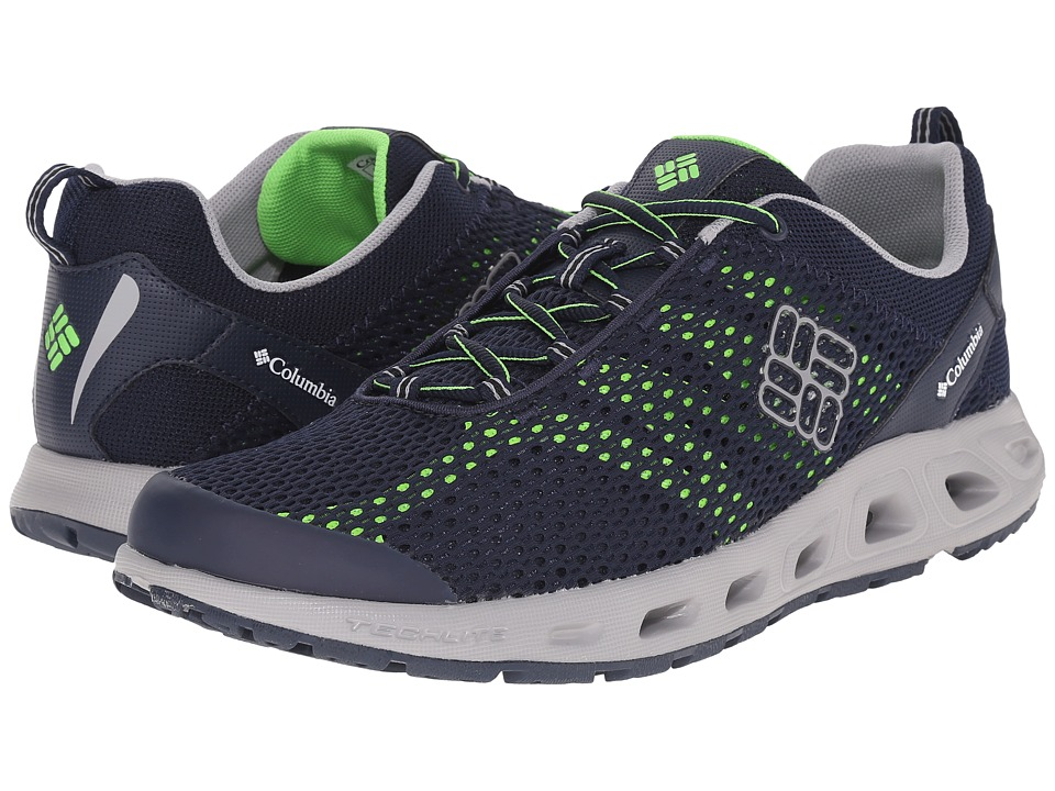 Columbia - Drainmakertm III (Collegiate Navy/Green Mamba 1) Men's Shoes