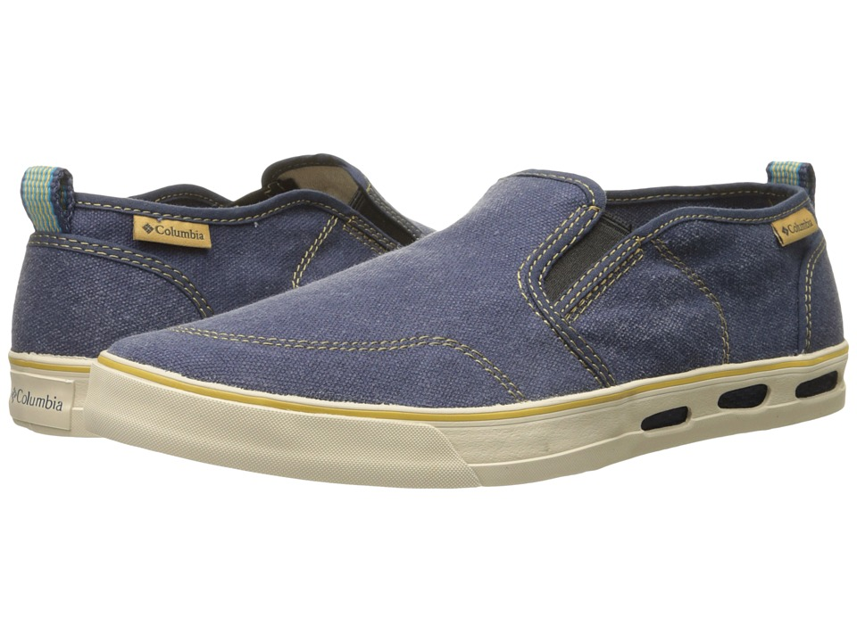 Columbia Vulc N Vent Slip (Nocturnal/Dark Banana) Men