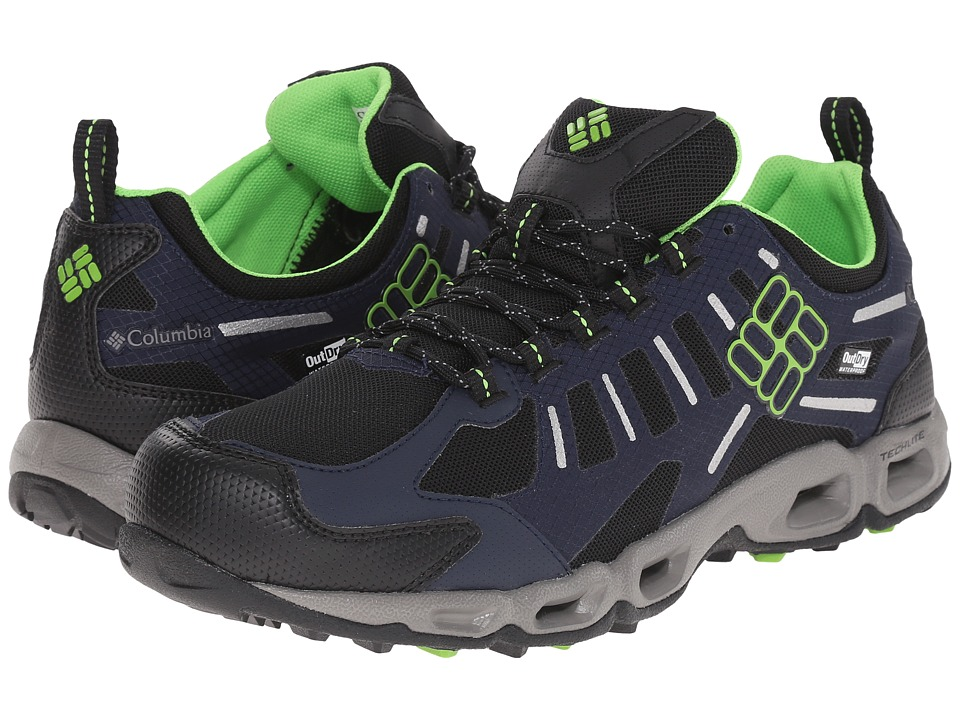 Columbia Ventfreak Outdry (Black/Green Mamba) Men