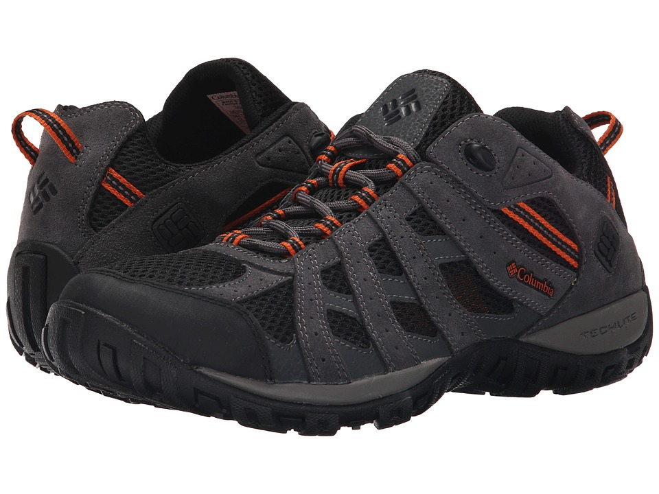 Columbia - Redmondtm (Black/Heatwave) Men's Shoes