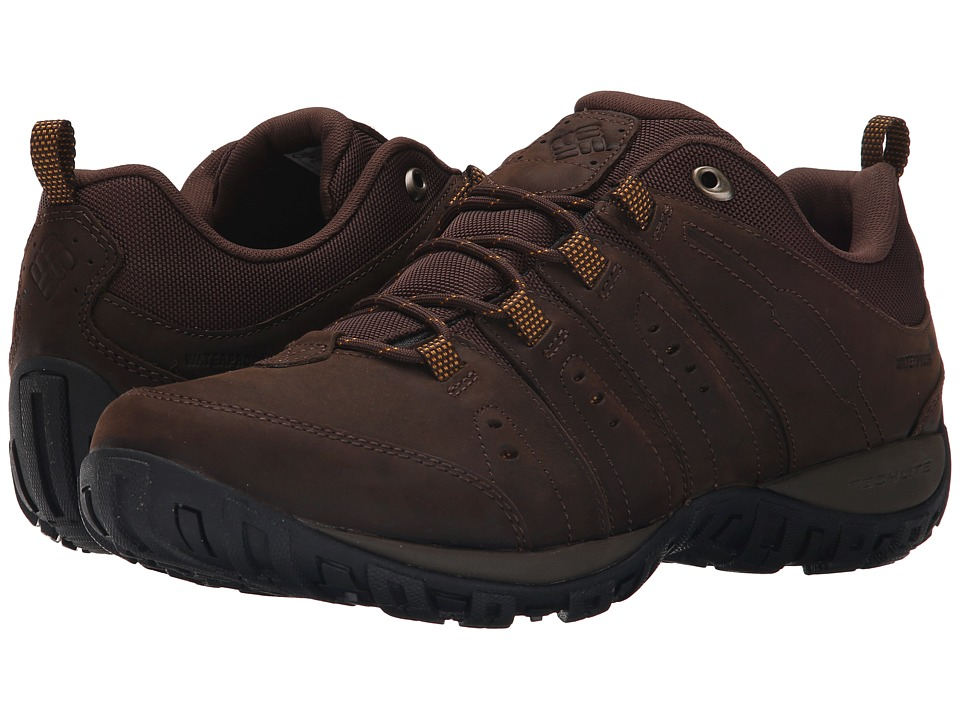 Columbia - Peakfreak Nomad Plus Waterproof (Cordovan/Squash) Men's Shoes