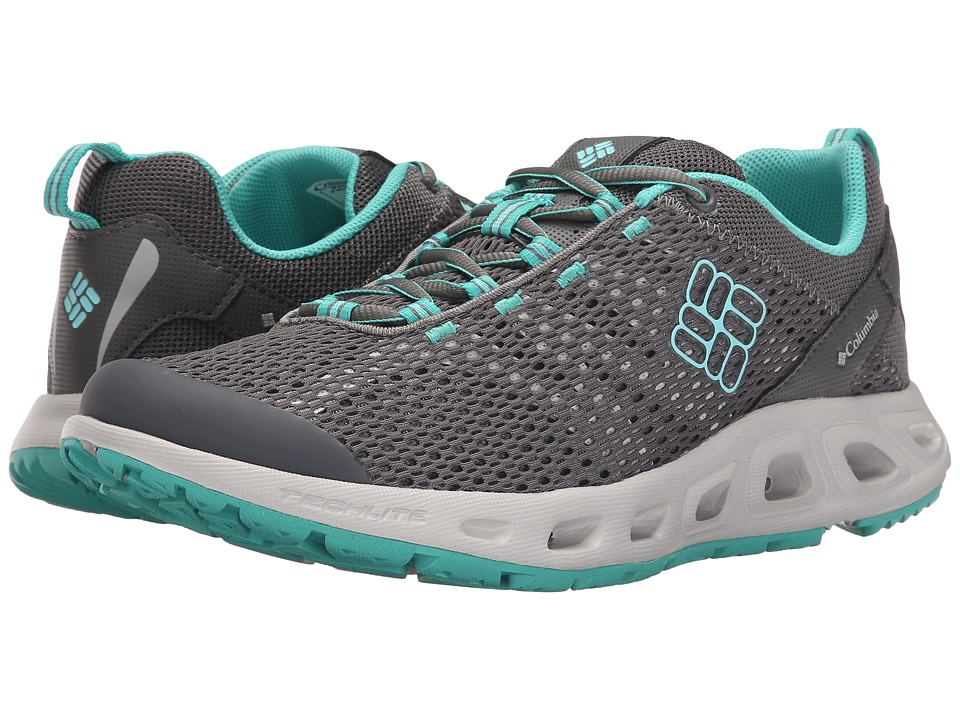 Columbia - Drainmakertm III (Quarry/Candy Mint) Women's Shoes