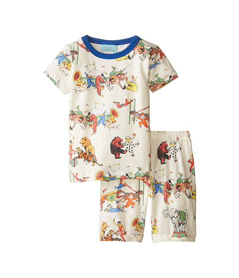 BedHead Kids - Short Sleeve Two-Piece Shorts Set (Toddler/Little Kids) (Showtime) Girl's Pajama Sets