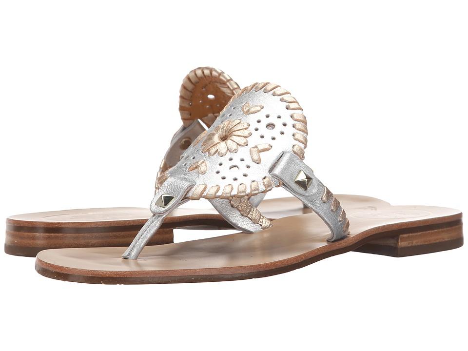 Jack Rogers - Georgica (Silver/Platinum) Women's Sandals