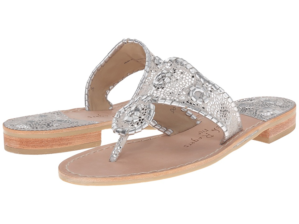 Jack Rogers Lacey (Silver) Women