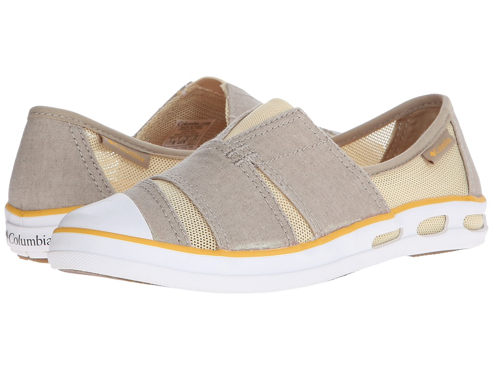 Columbia - Vulc N Vent Slip (British Tan/Stinger) Women's Slip on Shoes