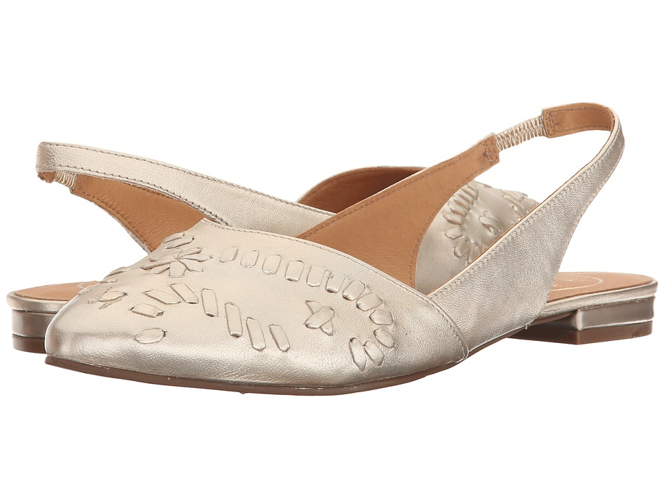 Jack Rogers - Rory (Platinum) Women's Flat Shoes