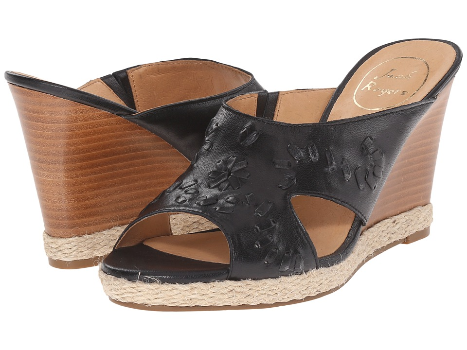 Jack Rogers - Sophia (Black) Women's Wedge Shoes