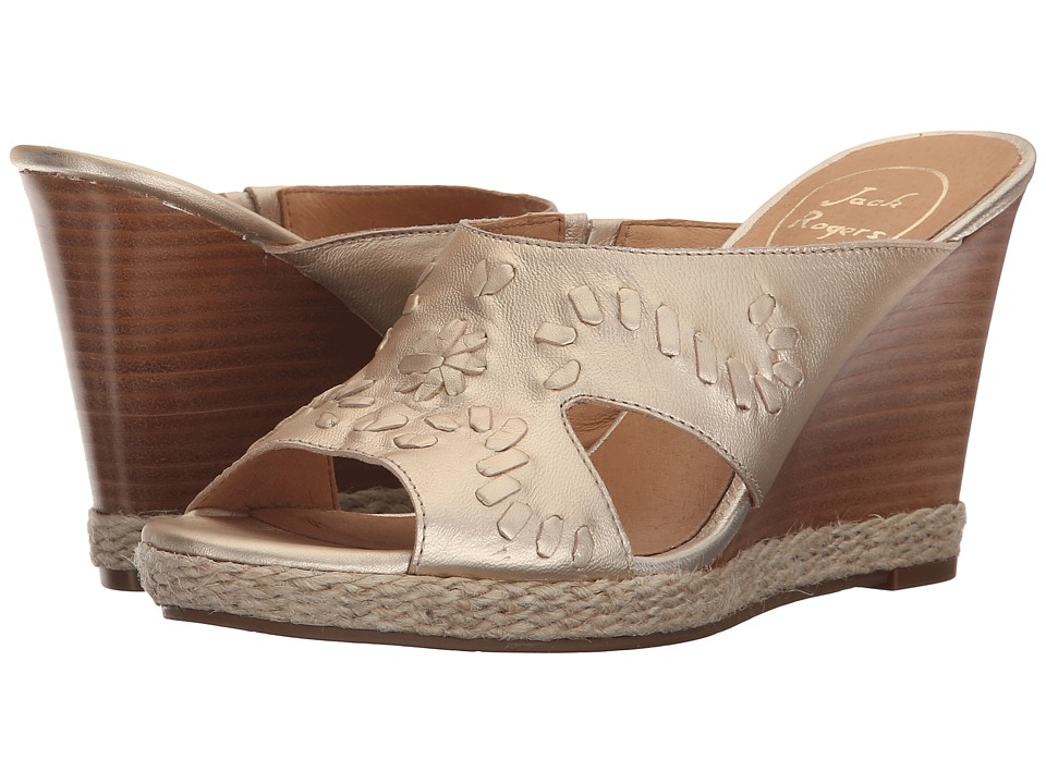 Jack Rogers - Sophia (Platinum) Women's Wedge Shoes