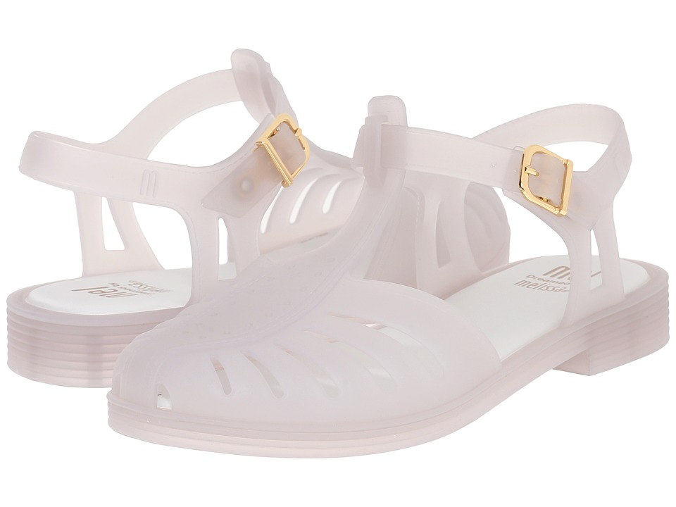 Mini Melissa - Mel Aranha 1979 (Little Kid/Big Kid) (Milk Matte) Girl's Shoes