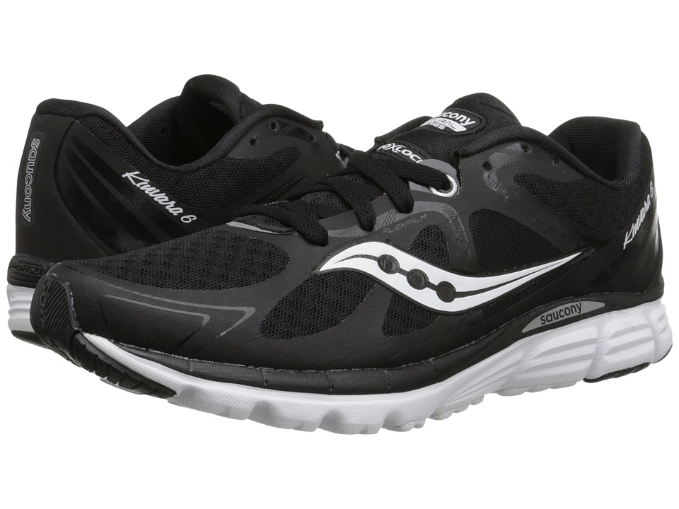 Saucony - Kinvara 6 (Black/White) Women's Running Shoes