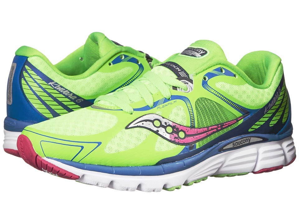 Saucony - Kinvara 6 (Slime/Blue/Purple) Women