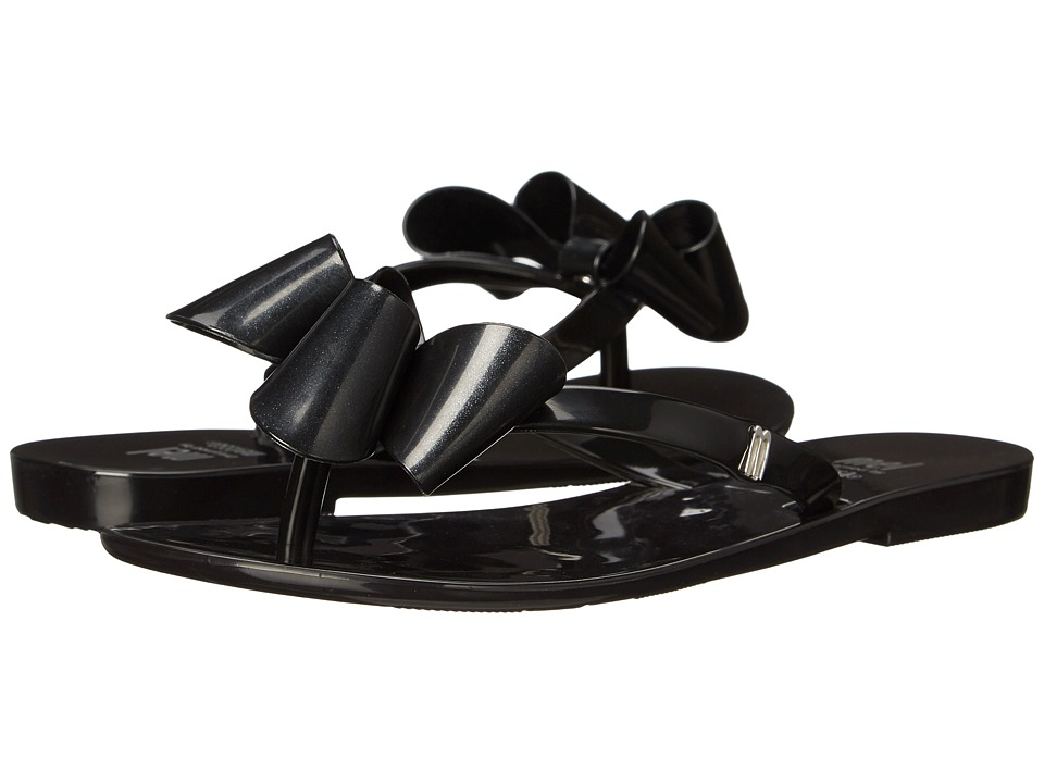 Mini Melissa - Mel Harmonic Bow (Little Kid) (Black) Girl's Shoes